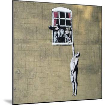 Scandal-Banksy-Mounted Giclee Print