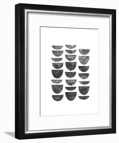 Scandanavian Geometry-Brett Wilson-Framed Giclee Print
