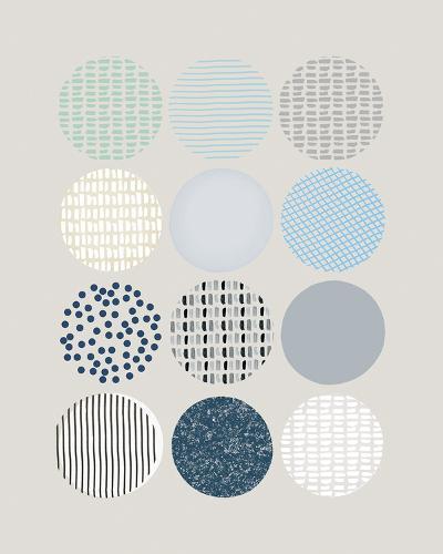 Scandi Circles-Clara Wells-Giclee Print