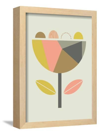 Scandi Flower-Little Design Haus-Framed Giclee Print