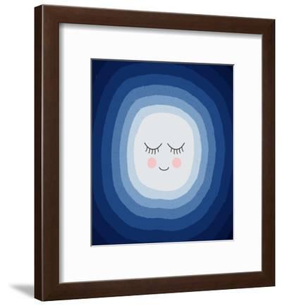 Scandi Moon-Elena David-Framed Art Print