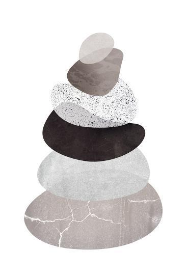 Scandi Stones I-Clara Wells-Giclee Print