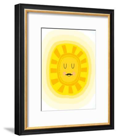 Scandi Sun-Elena David-Framed Art Print