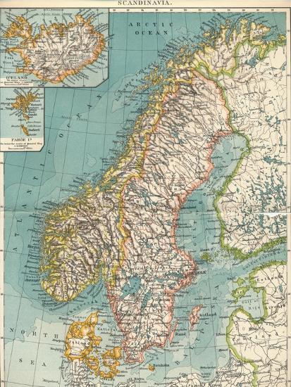 'Scandinavia', c1906, (1907)-Unknown-Giclee Print
