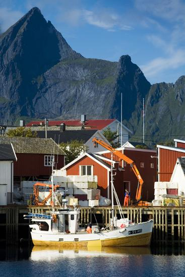 Scandinavia, Norway, Lofoten, Moskenesoey, Hamnoy-Rainer Mirau-Photographic Print