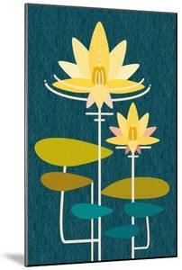Scandinavian Lotus (Blue)