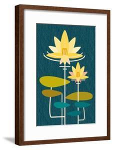 Scandinavian Lotus (Blue)