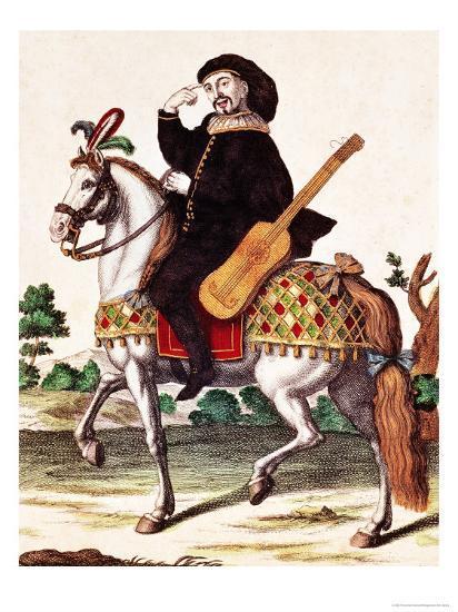 Scaramouche on Horseback--Giclee Print