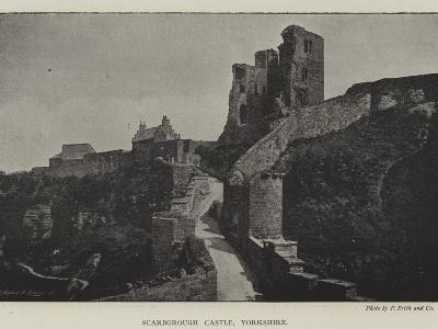 Scarborough Castle, Yorkshire--Giclee Print