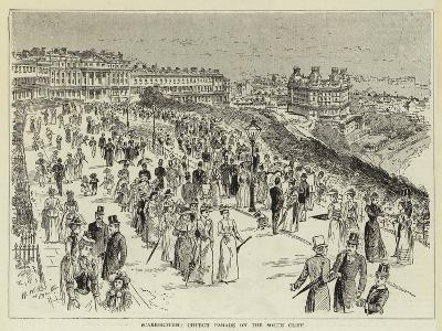 Scarborough, Church Parade on the South Cliff--Giclee Print