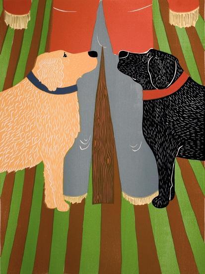 Scarecrow Bottom-Stephen Huneck-Giclee Print