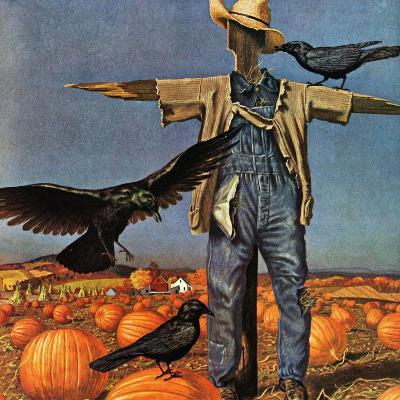 """Scarecrow,"" October 26, 1946-John Atherton-Giclee Print"