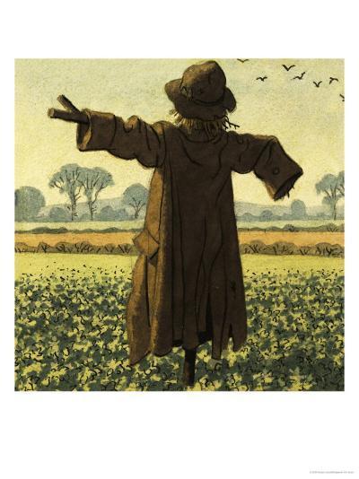 Scarecrow-Ronald Lampitt-Giclee Print
