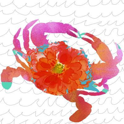 Scarlet Crustation-Edith Jackson-Art Print