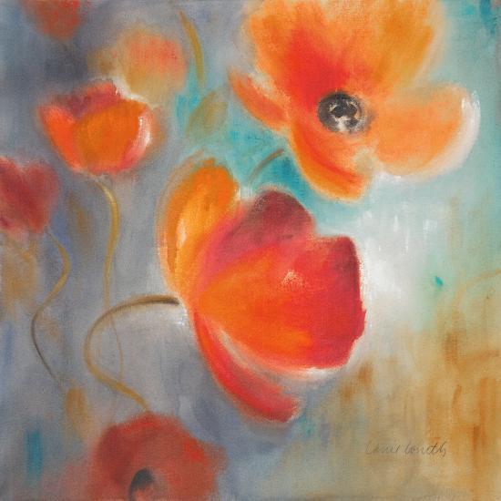 Scarlet Poppies in Bloom I-Lanie Loreth-Premium Giclee Print