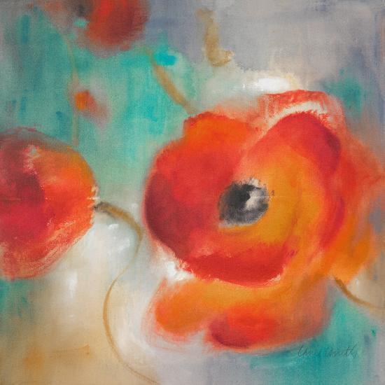 Scarlet Poppies in Bloom II-Lanie Loreth-Art Print