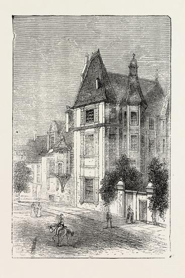 Scarron's House at Le Mans, France, 1871--Giclee Print