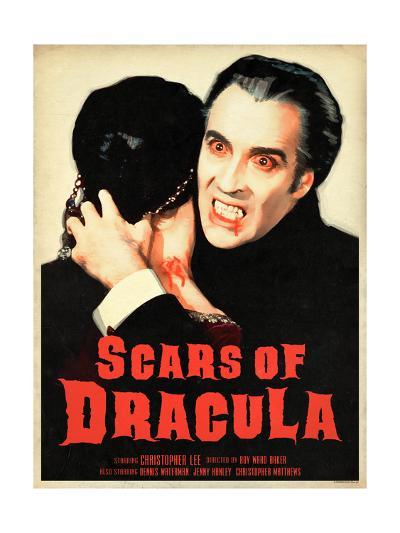 Scars of Dracula 1970--Art Print
