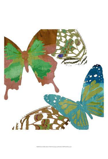 Scattered Butterflies I-Sisa Jasper-Art Print