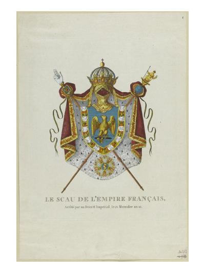 Sceau de l'Empire français--Giclee Print