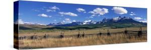 Scene Along Last Doller Road North of Telluride Colorado USA