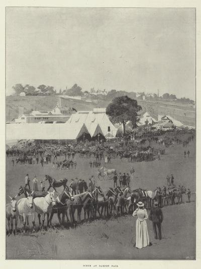 Scene at Barnet Fair-Joseph Holland Tringham-Giclee Print