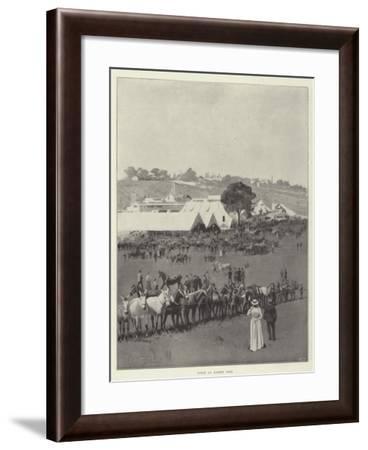 Scene at Barnet Fair-Joseph Holland Tringham-Framed Giclee Print