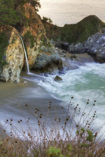 Scene at Waterfall Beach-Vincent James-Photographic Print