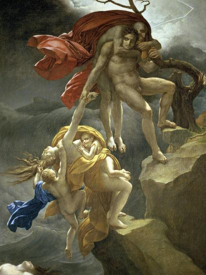 Scene de Deluge-Anne-Louis Girodet de Roussy-Trioson-Giclee Print