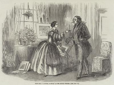 Scene from A Bottle of Smoke, at the Adelphi Theatre--Giclee Print