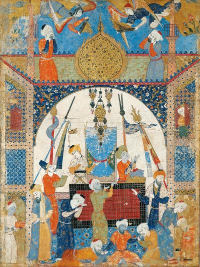 Scene from a Mausoleum--Giclee Print