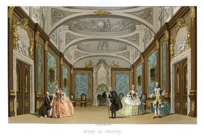 Scene from a Play- Charpentier-Giclee Print