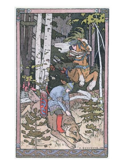 Scene from a Russian Fairy Tale, 1899-Ivan Bilibine-Giclee Print
