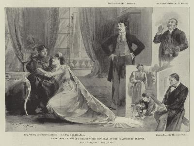 Scene from A Woman's Reason, the New Play at the Shaftesbury Theatre--Giclee Print