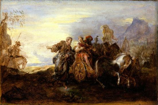 Scene from Ancient History, c.1680-90-Joseph Parrocel-Giclee Print