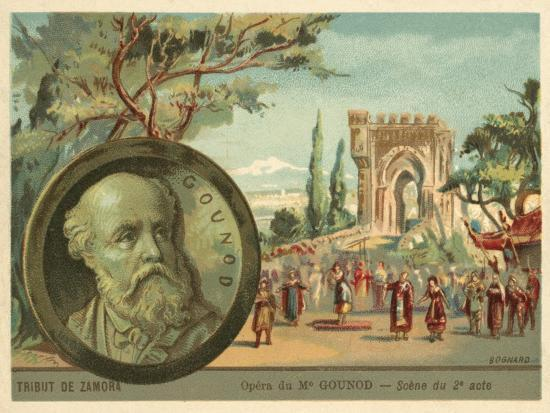 Scene from Charles Gounod's Opera Le Tribut De Zamora--Giclee Print