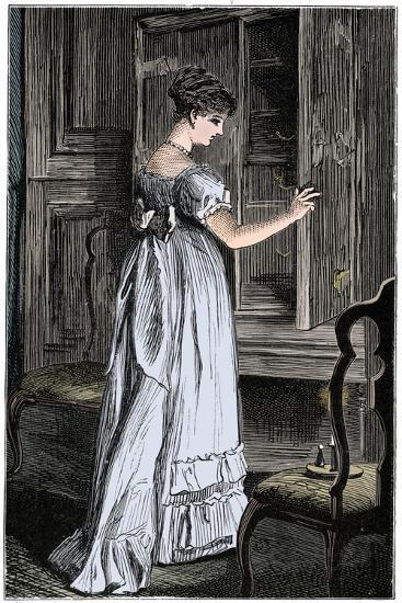 Scene from Jane Austen's Northanger Abbey-Unknown-Giclee Print