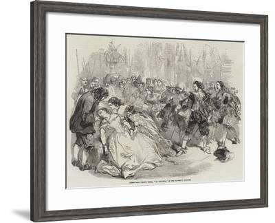 Scene from 'La Traviata' at Her Majesty's Theatre, 1856--Framed Giclee Print