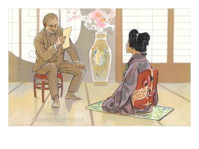 Scene from Madame Butterfly--Art Print