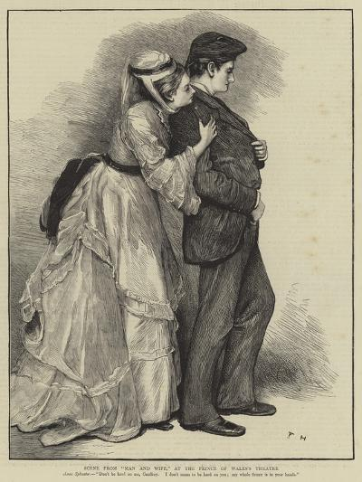 Scene from Man and Wife, at the Prince of Wales's Theatre--Giclee Print