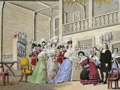 Scene from Opera I Puritani--Giclee Print