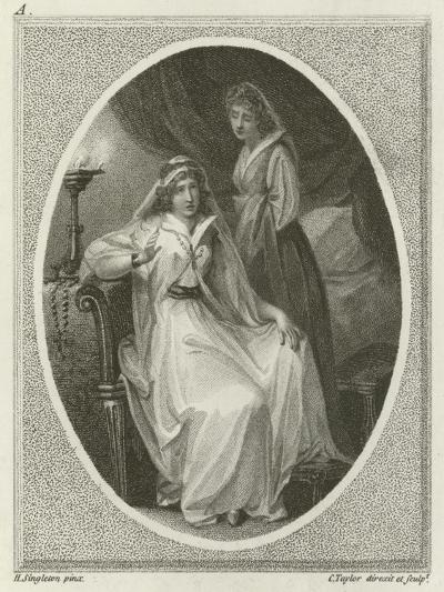 Scene from Othello, by William Shakespeare-Henry Singleton-Giclee Print