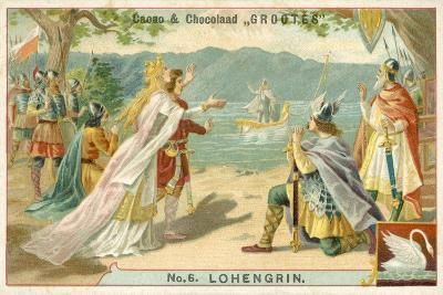 Scene from Richard Wagner's Opera Lohengrin--Giclee Print