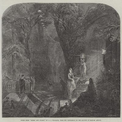 Scene from Romeo and Juliet-Arthur Joseph Woolmer-Giclee Print