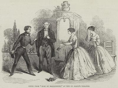 Scene from Rose Et Marguerite, at the St James's Theatre--Giclee Print