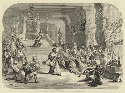 Scene from Sardanapalus at the Alexandra Theatre, Liverpool--Giclee Print