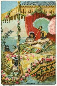 Scene from Shakespeare's Antony and Cleopatra