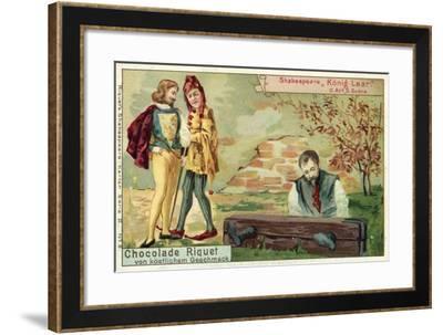 Scene from Shakespeare's King Lear--Framed Giclee Print