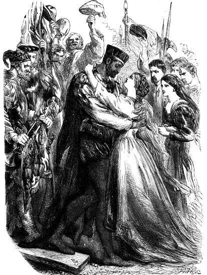 Scene from Shakespeare's Othello, 19th Century--Giclee Print
