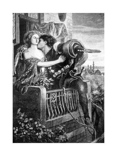 Scene from Shakespeare's Romeo and Juliet, C1860S-Ford Madox Brown-Giclee Print